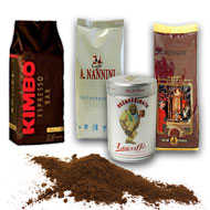 Ground coffee bundles