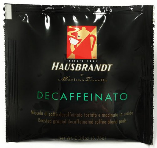 Hausbrandt Coffee Pods Decaffeinated (***Espresso Pods
