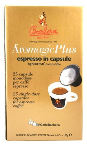 25 Barbera Aromagic Plus Nespresso®* compatible capsules