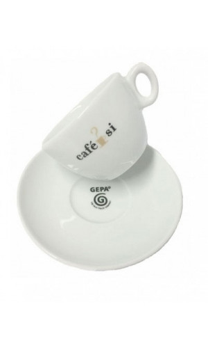 Cappuccino cup Cafe Si