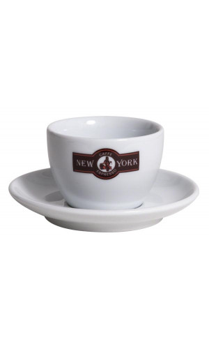 Caffe New York Cappuccino cup white