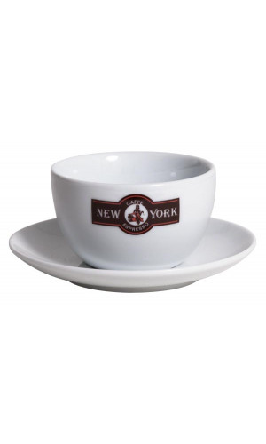Caffe New York Latte cup white