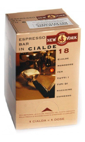 Caffe New York Espressopods decaffeinated