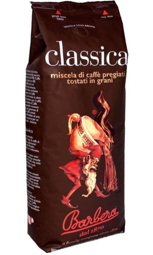 Barbera Classica coffee 1000g beans