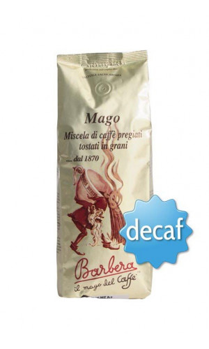 Barbera Mago Coffee decaffeinated 250g