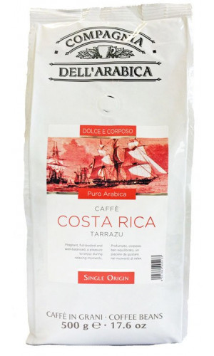 Compagnia dell Arabica coffee Costa Rica 500g bean