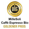 DLG - International Award 2017 in Gold | MilleSoli Caffè Espresso Bio Golener Preis