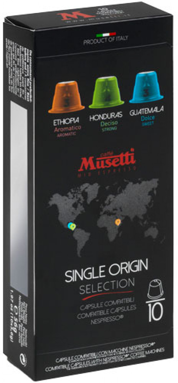 Musetti Single Origin Mix