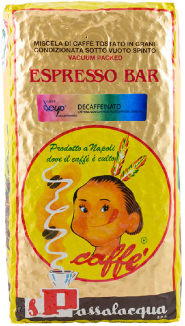 Passalacqua Espresso coffee decaf  | De Up | 1000g bean