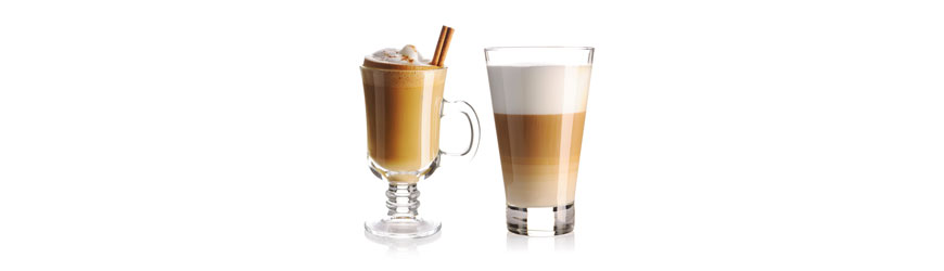 Great Selection Of Modern Branded Latte Glasses